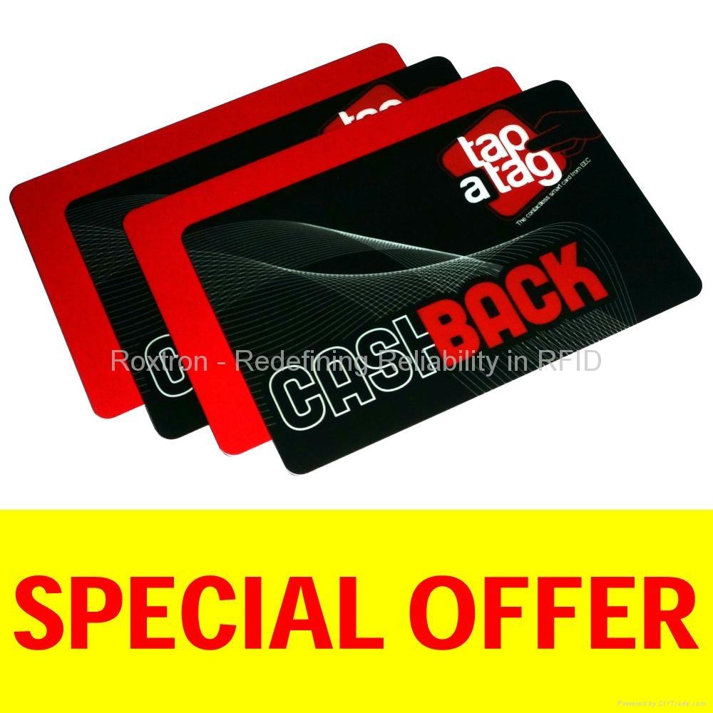 ROXTRON MIFARE DESFire EV1 8K PVC ISO Card