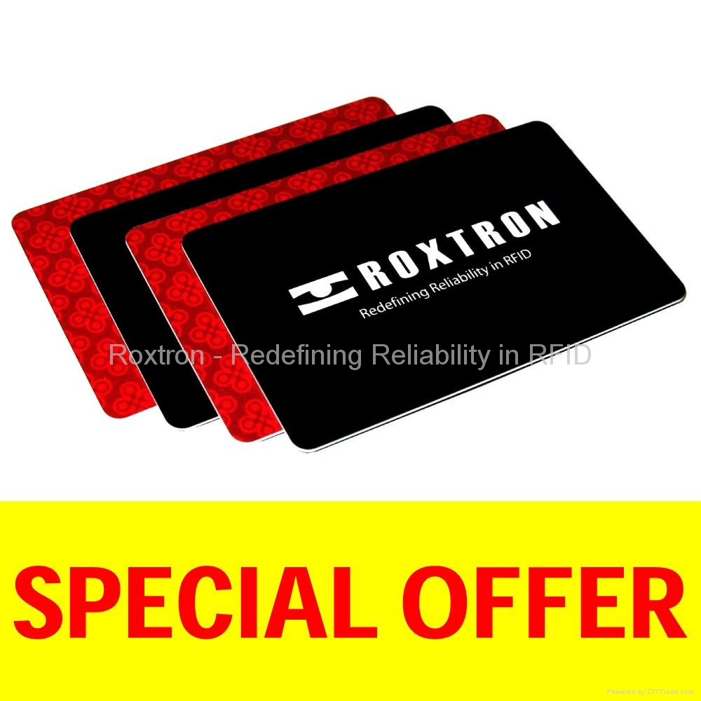 ROXTRON Tag-it PVC ISO Card