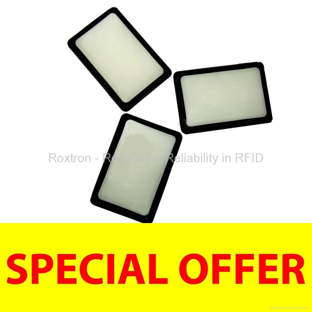 ROXTRON MIFARE DESFire EV1 4K On-Metal Sticker