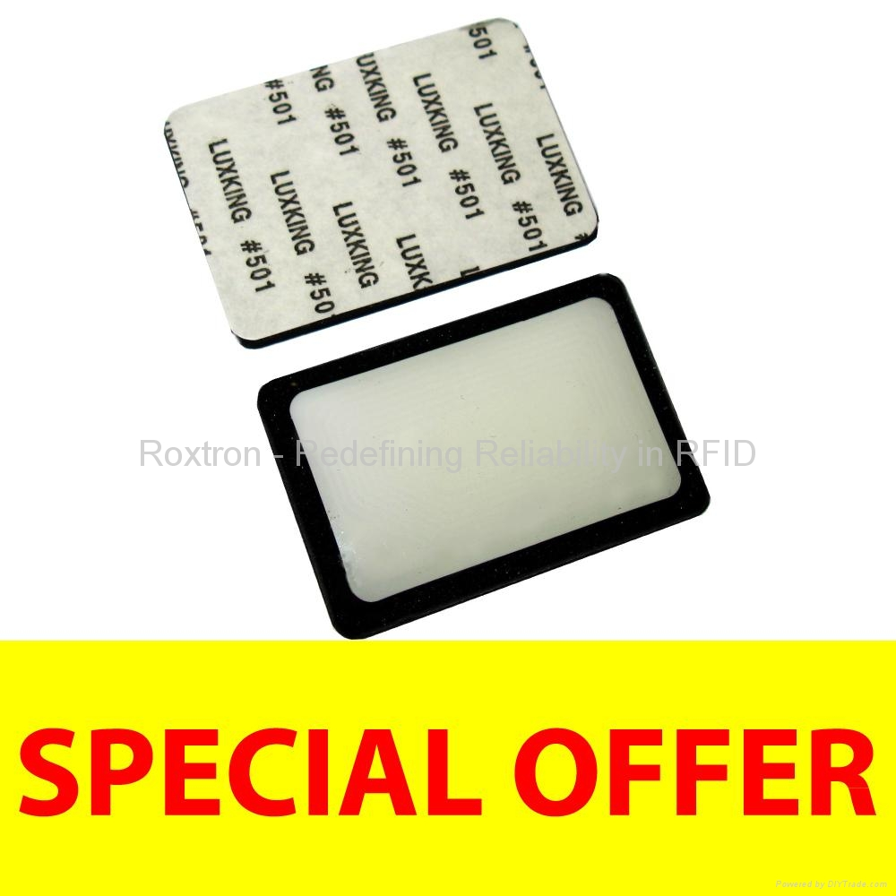 ROXTRON MIFARE DESFire EV1 8K On-Metal Sticker