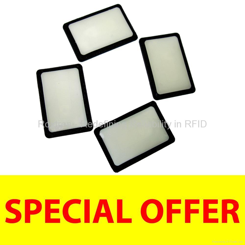 ROXTRON LEGIC MIM1024 On-Metal Sticker