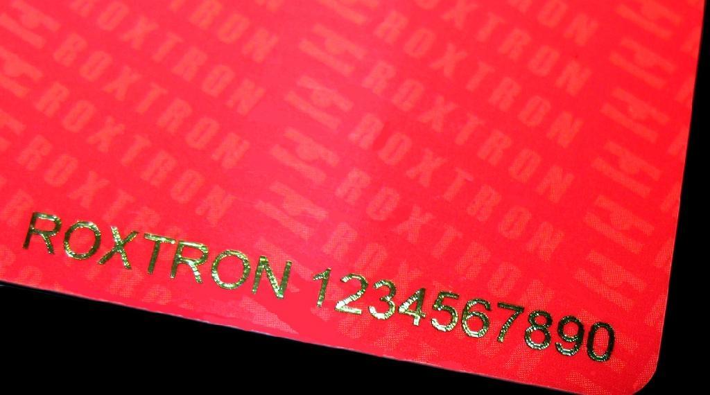 MIFARE Plus S 2K PVC ISO Card 20