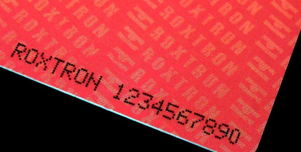 Tag-it Ti2048 PVC ISO Card 12