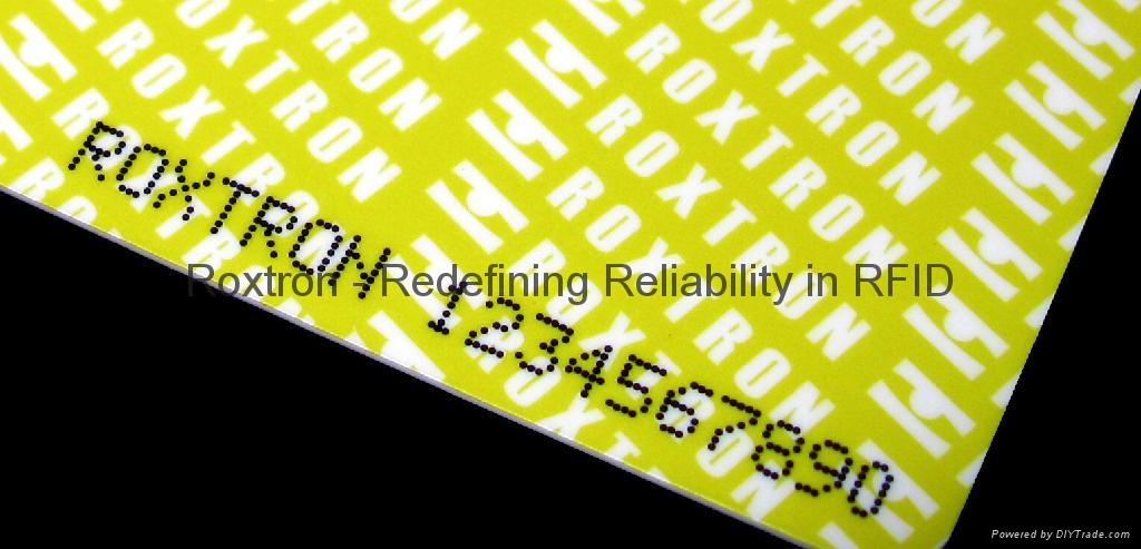 Tag-it PVC ISO Card 6