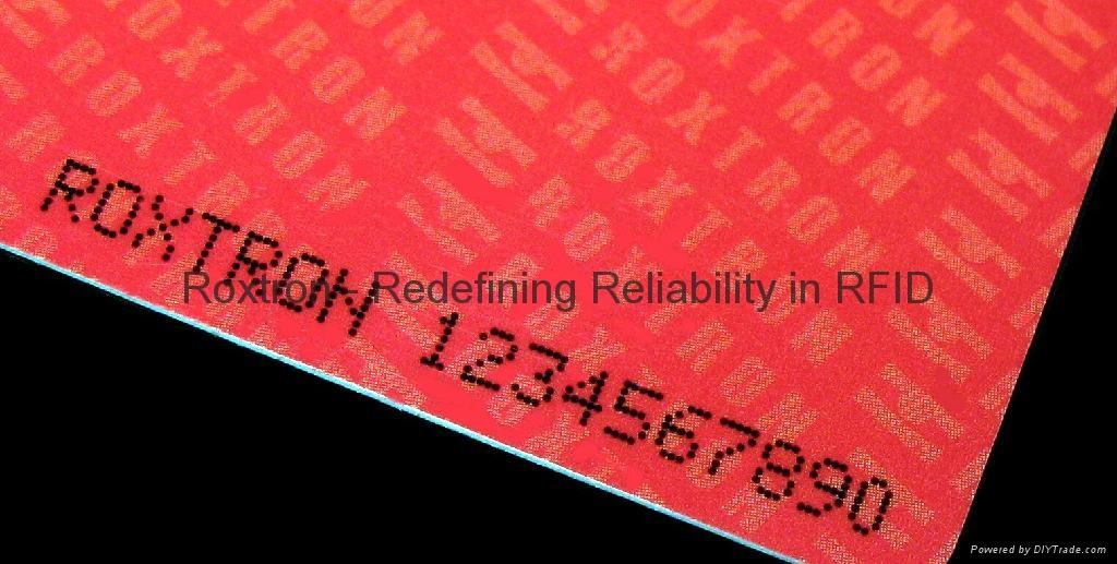 Tag-it PVC ISO Card 9