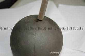 100mm forged grinding steel balls