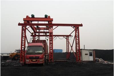 煤場裝車集裝箱定點起重機 2