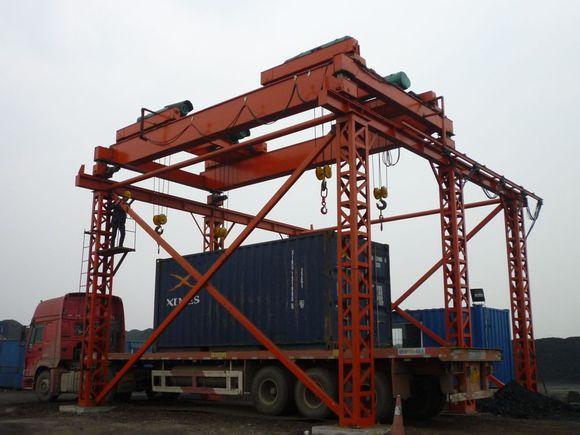煤場裝車集裝箱定點起重機 5