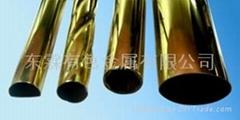 環保薄壁大口徑黃銅管