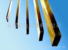 黄铜扁方管