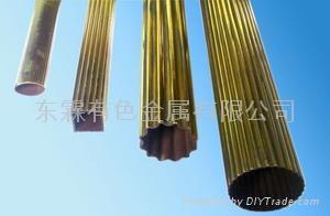 黃銅直紋花管 1