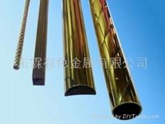 黄铜扭纹花管