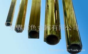 環保異型黃銅管 1