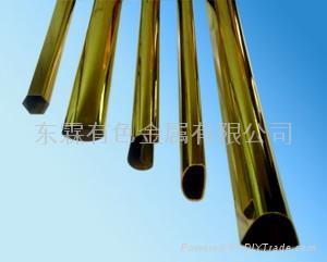國標H63異型黃銅管 1