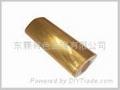 國標H59六角空心黃銅棒 1