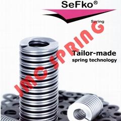 原装德国SEFKO高速电主轴轴双螺旋弹簧