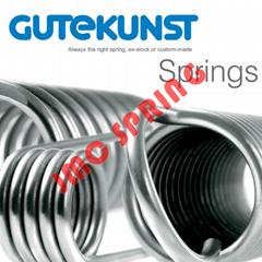 DIN2095标准/琴钢线/圆线压缩弹簧/德国GUTEKUNST弹簧