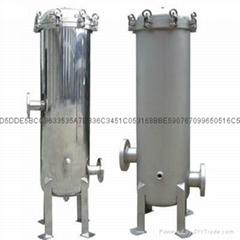 供應寶納牌15芯40寸不鏽鋼法蘭式過濾器