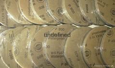 德国HERMES WS FLEX 18C ® Paper(碳化硅)耐水研磨砂纸