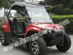 dual seats, rigid roof, alloy wheel fashion UTV 200 on sale