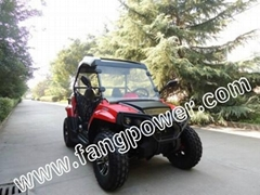 strong power oil cooled fast shipping UTV 200