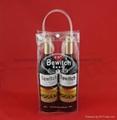 專業生產紅酒透明禮品袋批發葡萄酒手提袋 1
