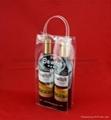 專業生產紅酒透明禮品袋批發葡萄酒手提袋 2