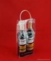 專業生產紅酒透明禮品袋批發葡萄酒手提袋 4