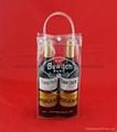 專業生產紅酒透明禮品袋批發葡萄酒手提袋 3
