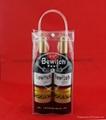 專業生產紅酒透明禮品袋批發葡萄酒手提袋 5