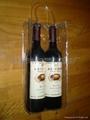 厂家直销葡萄酒透明手提袋红酒礼