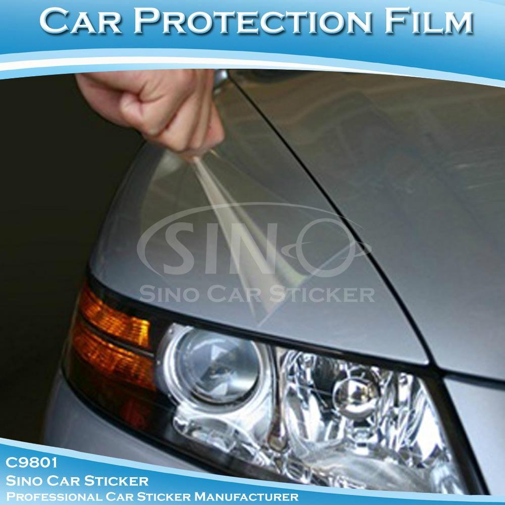 Car paint protective vinyl film xl c9801 sino china for Car paint protection film cost