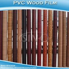 高档PVC加厚自粘木纹纸墙纸壁纸,正品防水家具翻新贴纸木纹贴纸