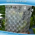 3D磨砂玻璃貼紙D001 2