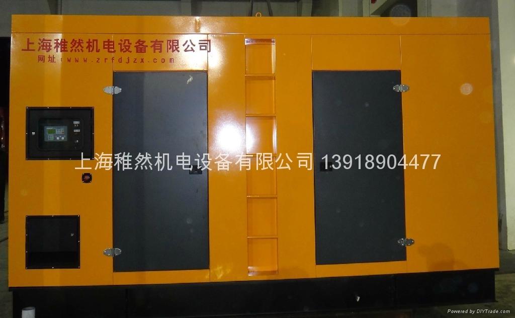 100-400KW租賃用靜音型發電機組