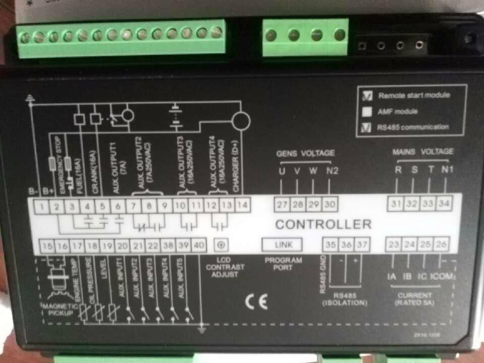 康明斯调速器   调压板  控制板 2
