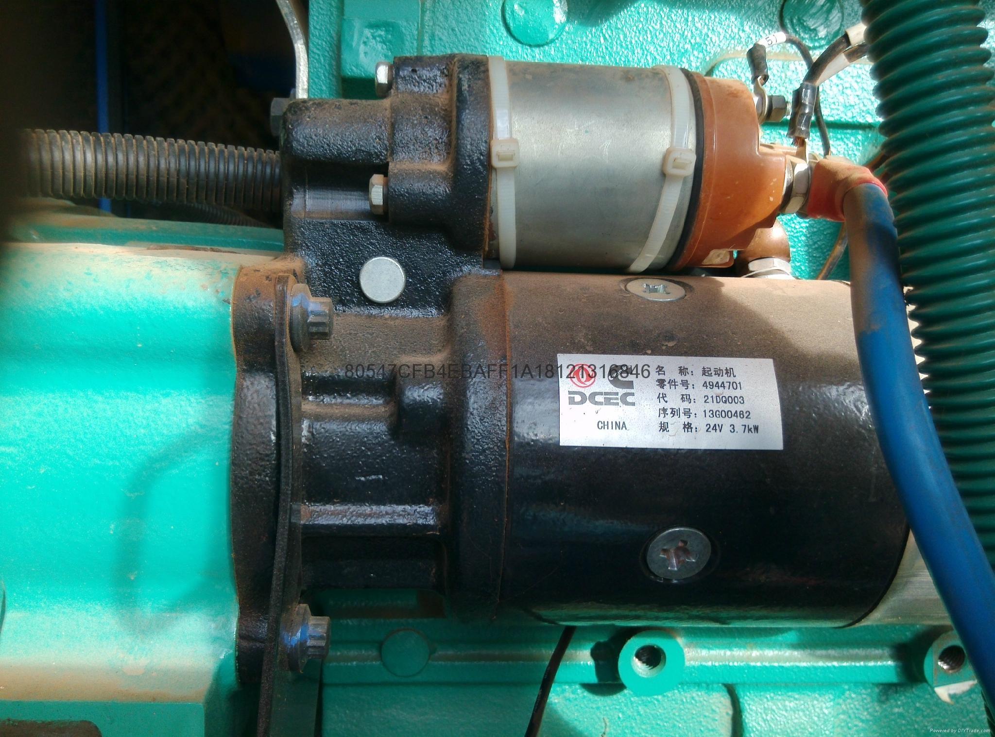 康明斯減速起動機3.7KW 正宗康明斯配件 4944701起動機包郵 含稅 1