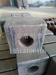 Tungsten titanium alloy inlaid hammers