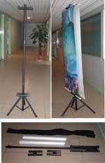 double side banner stand China,banner stand,Double Side  Adjustable Banner Stand