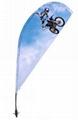 flying banner China,Beach flag,beach
