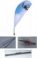 Outdoor Flying ,teardrop banners China