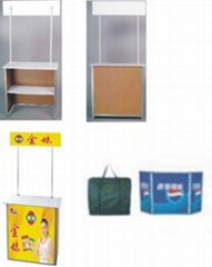display counters,promotional counter,folding products display