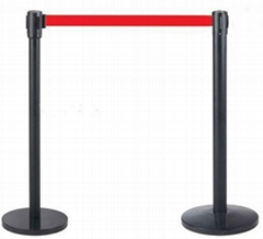 rope and chain barrier stanchions