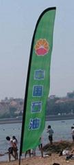 沙滩旗,沙滩旗,羽毛旗,广告旗,促销旗,旗,热转印旗,数码印旗帜