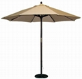China wooden umbrella