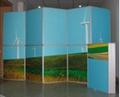 广州折叠屏风,折叠展架,可移动
