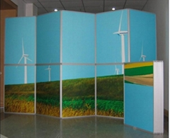 Folding Exhibition Display Stands,folding panel,Panel & Pole Display