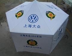 6角折疊帳篷,6腳廣告帳篷,圓型折疊帳篷