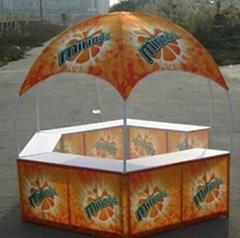 广州圆顶6角帐篷;广州6角促销帐篷;6角户外广告亭