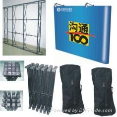 pop up displays, banner stands, exhibits stand,display products,display material